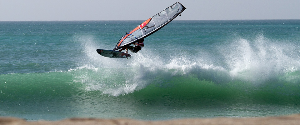 Windsurfing experience of a lifetime on waves of Boa Vista.